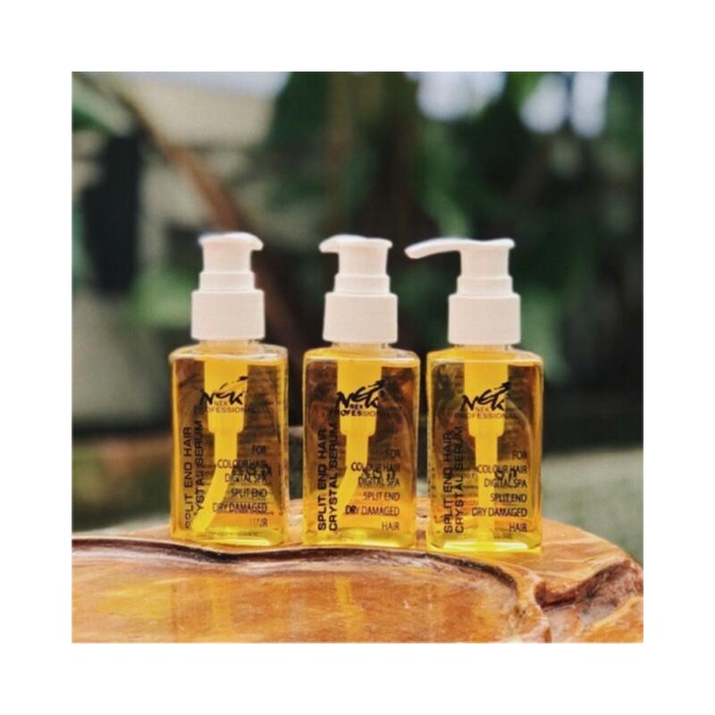Nek Hair Oil Split End Crystal Hair Serum For Dry Damaged Hair 100ml